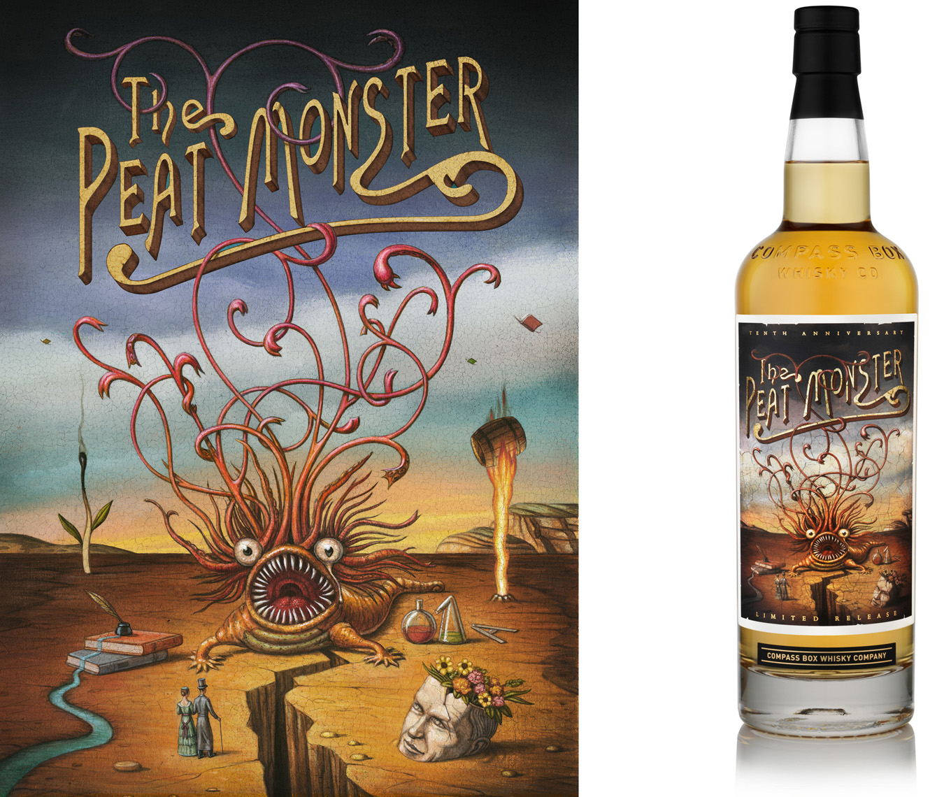 The Peat Monster, Compass Box